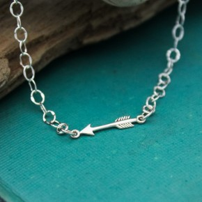Tiny Arrow Anklet
