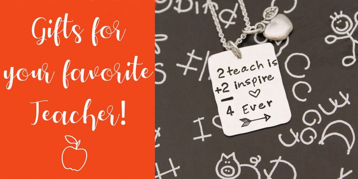 teacher jewelry