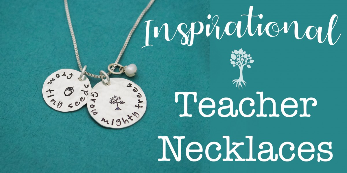 teacher jewelry necklaces