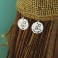Go Outside Sterling Silver Earrings