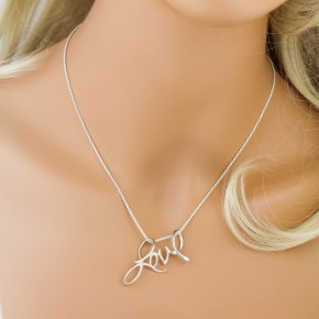 Big and Bold Love Necklace