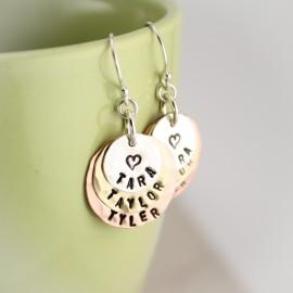 Layers of Love Earrings