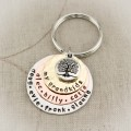 Layers of Love Keychain