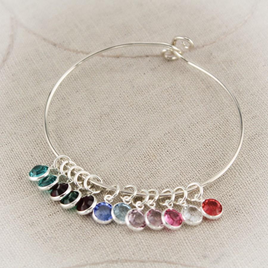 Mother Or Grandmother Bangle Bracelet