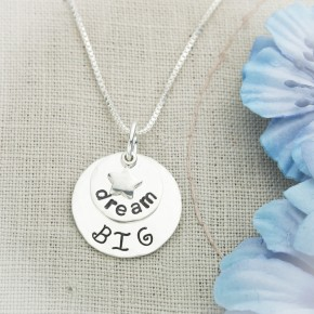 Dream Big Sterling Silver Necklace