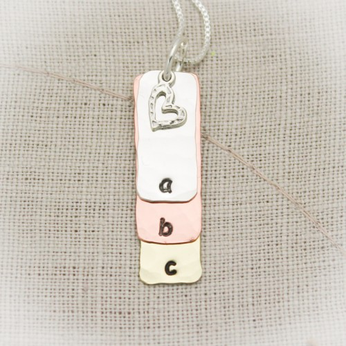 Initial Love Layered Necklace