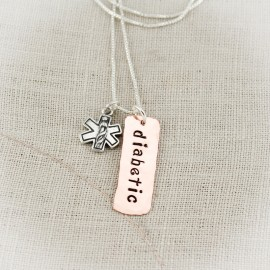 Medical Alert Tag Necklace