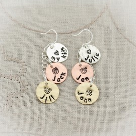 Personalized Dangle Earrings