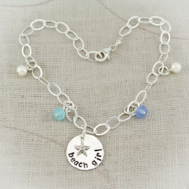 Sterling Silver Beach Girl Bracelet