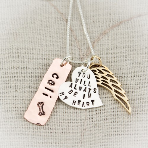 You Will Always Be in My Heart Necklace