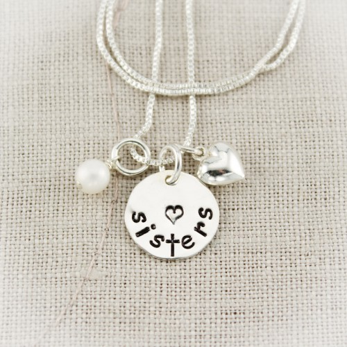 Sisters Charm Necklace