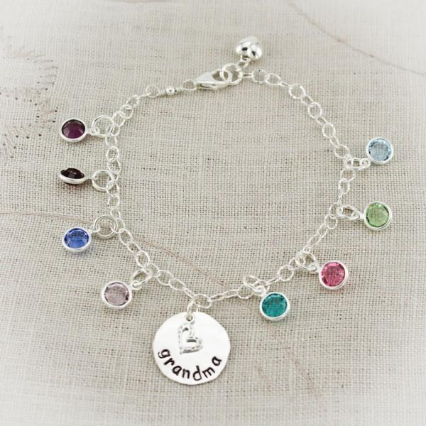 Nanny S Birthstone Charm Bracelet Charm Bracelet