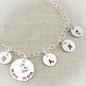 Lovely Letters Charm Anklet