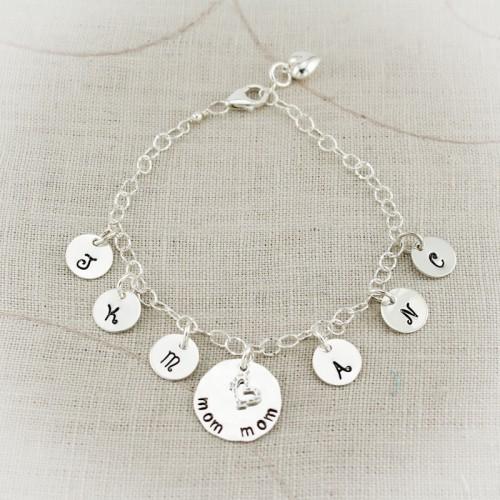 Lovely Letters Charm Bracelet