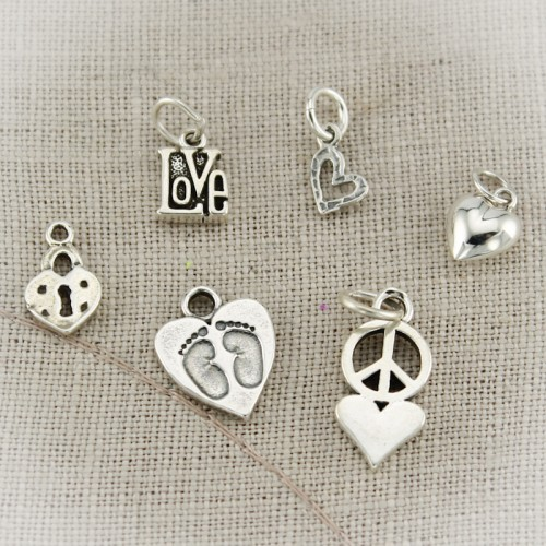 Heart  and Love Charms