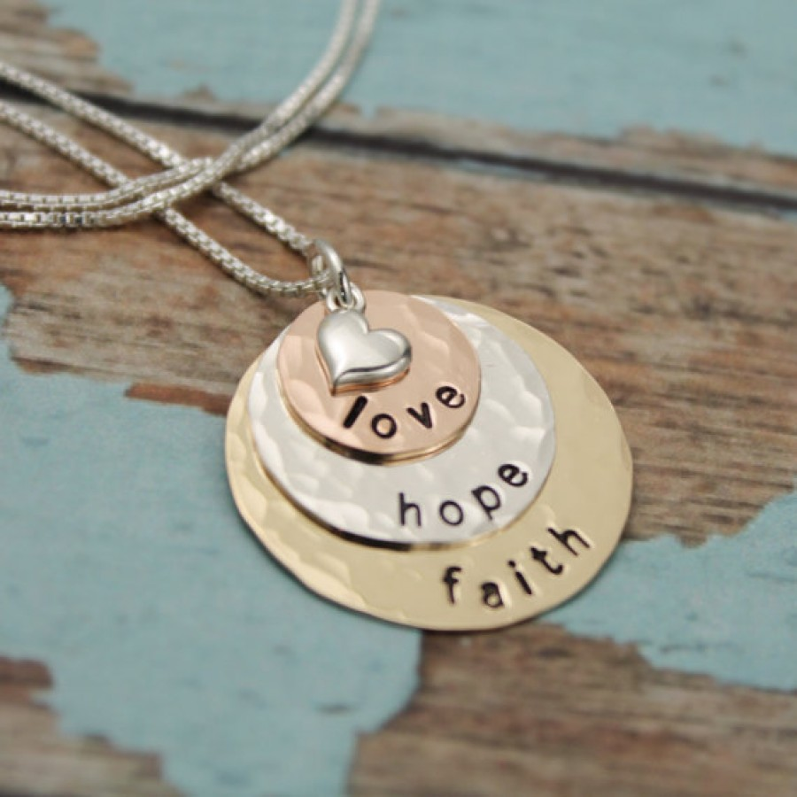 Personalized Layered Mother Or Grandmother Necklace In Precious