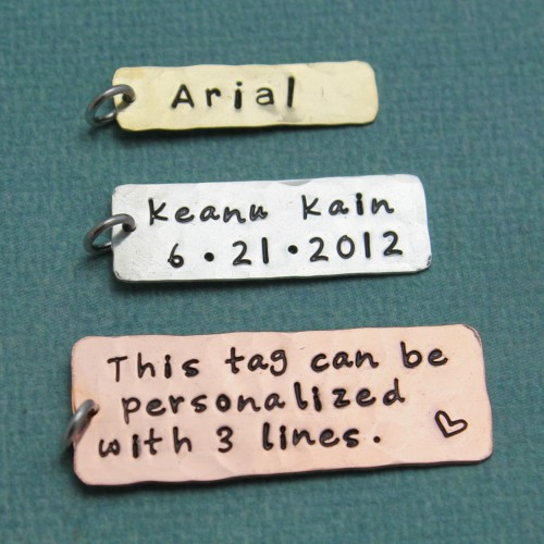Love Tokens Extra Tags Medium