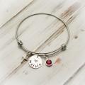 Have Faith Cross Bangle Bracelet