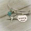 Beach Girl Bangle Bracelet