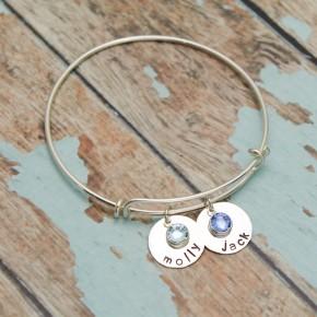Sweet Little Jewels Adjustable Bangle Bracelet