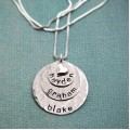 Layers of Love in Sterling Silver Necklace