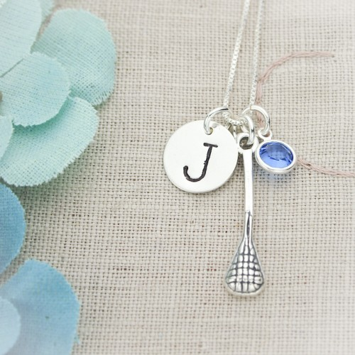 Lil' Sport/Hobby Necklace with Initial