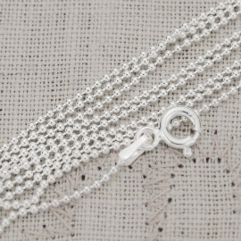 Sterling Silver Round Ball Chain