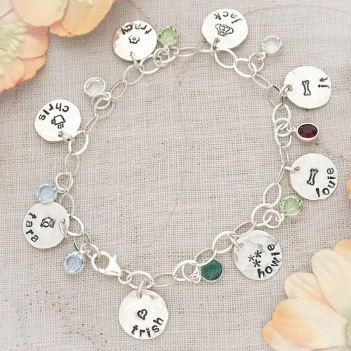 Glenell's Favorite Charm Bracelet