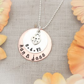 New Love Newlyweds Necklace