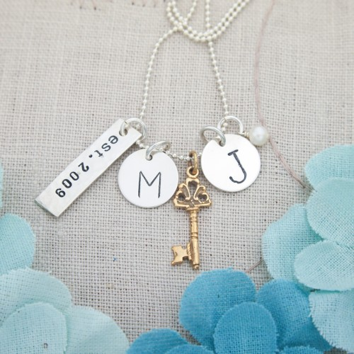 Key to Our Love Necklace