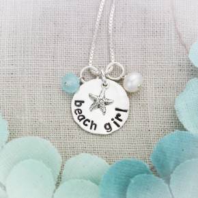 Beach Girl Necklace, Small