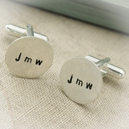 Personalized Men's Cuff Links