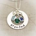 Little Gems Washer Necklace