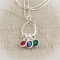 Eternity Birthstone Necklace