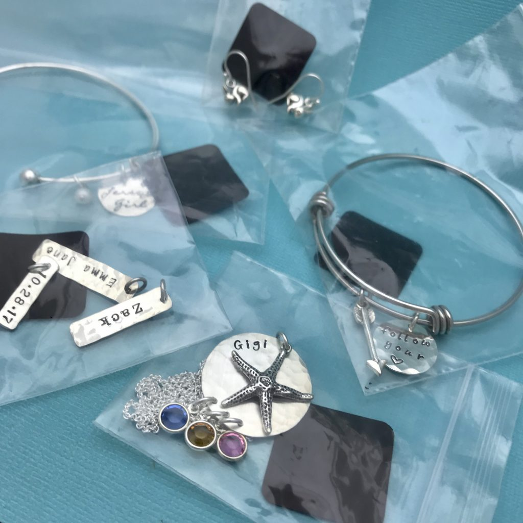 Storing Your Metal Jewelry In Ziplock Air Tight Plastic Bags With  Anti Tarnish Paper.
