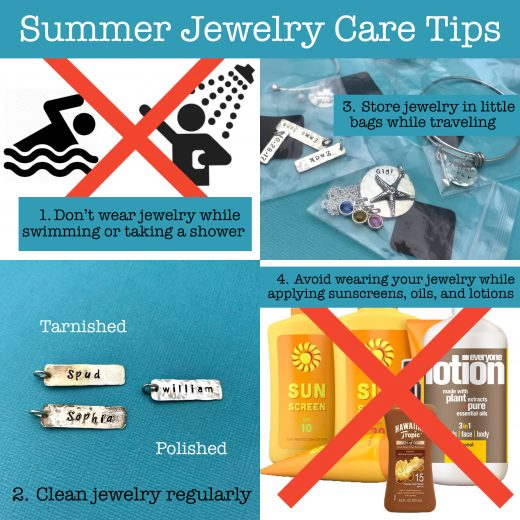 summer jewelry care