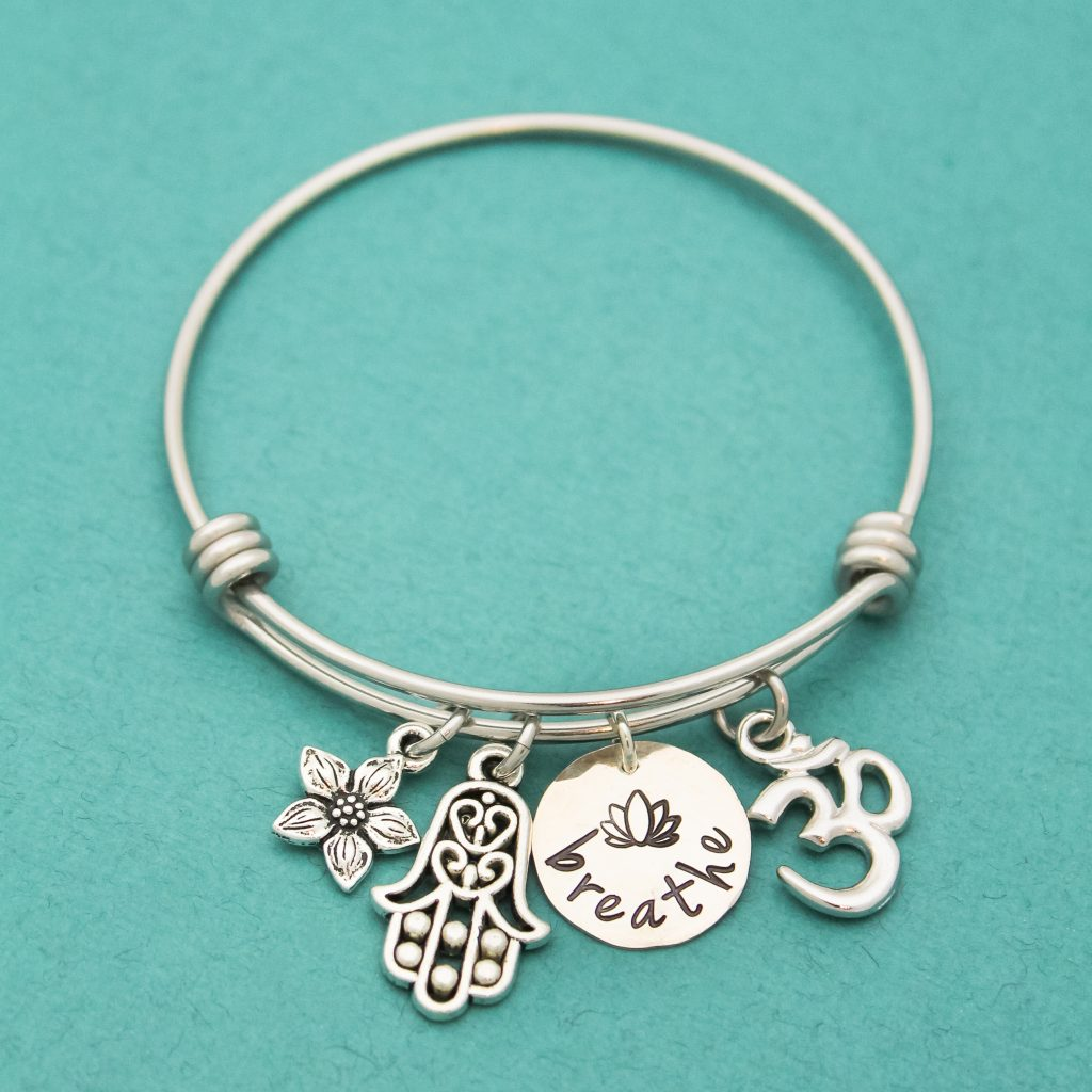 breathe-bangle-sterling silver