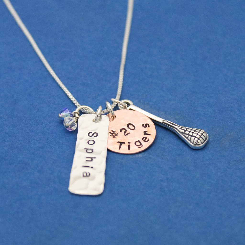Lacrosse Team necklace