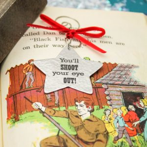 A christmas story youll shoot your eye out christmas ornament