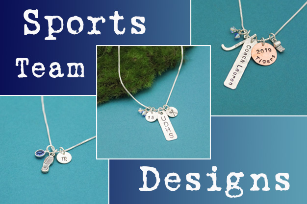 sports team jewelry by tracy tayan designs.