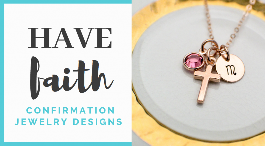 have faith confirmation jewelry designs for boys and girls
