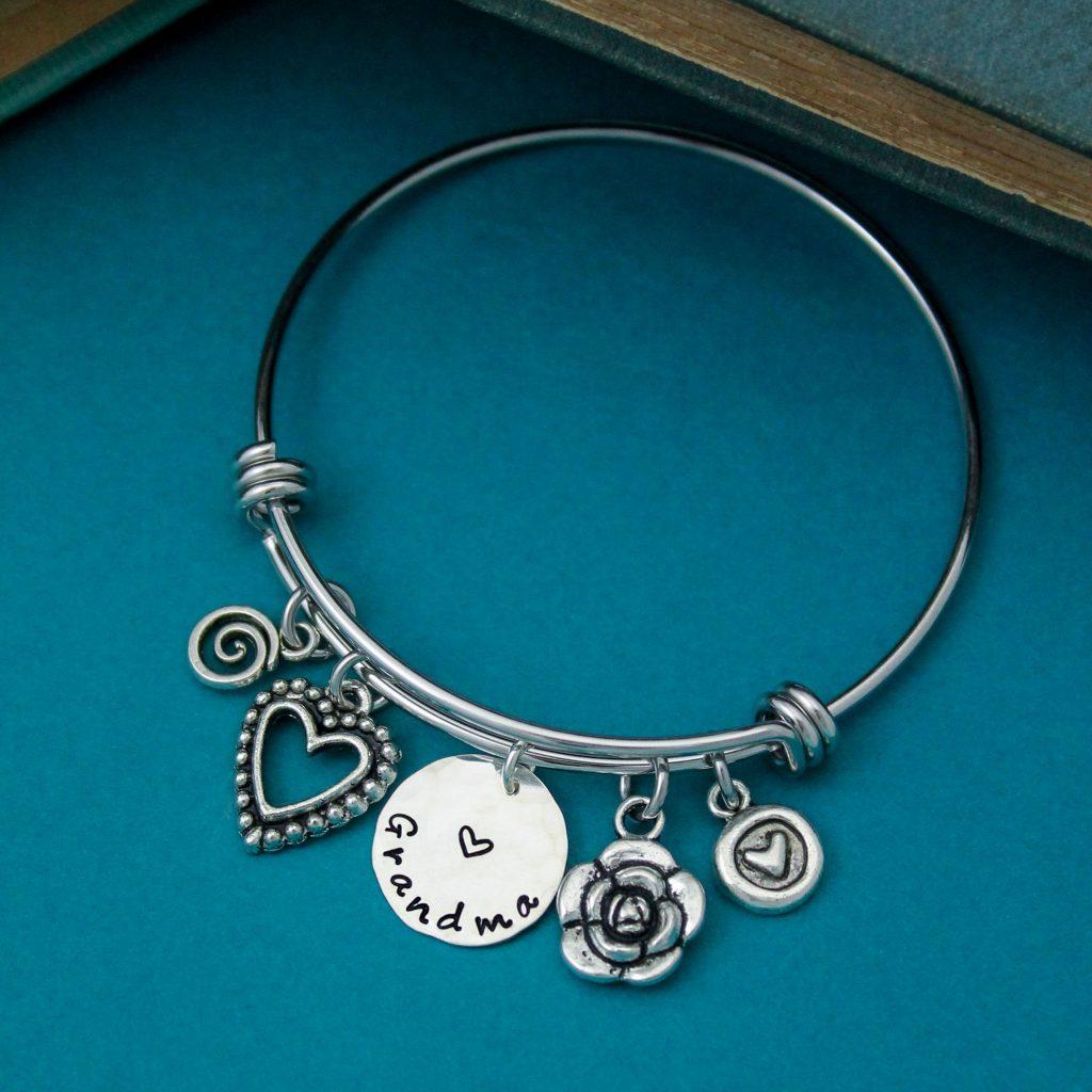 perfect bangle for grandma in silver