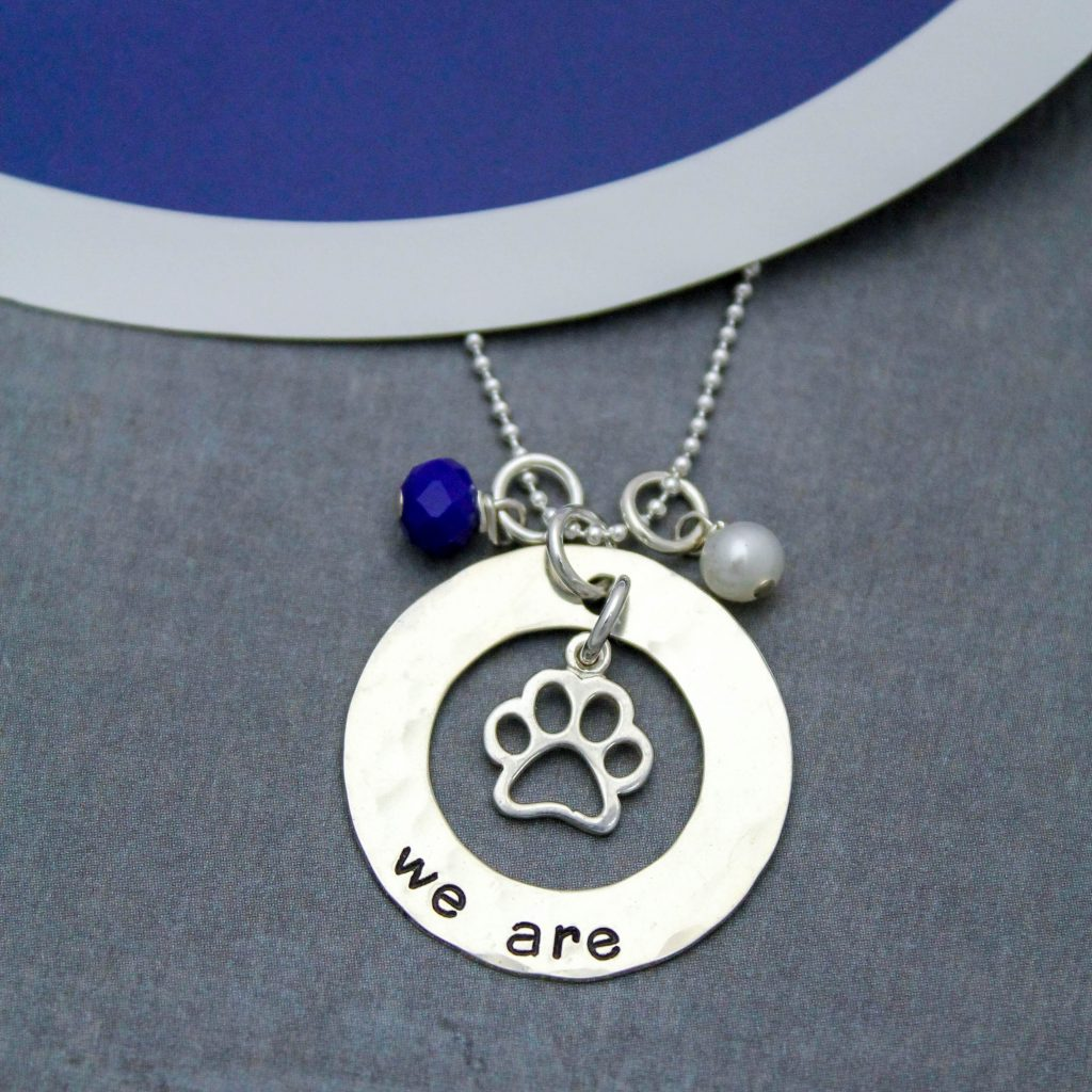 we are penn state necklace graduation necklace
