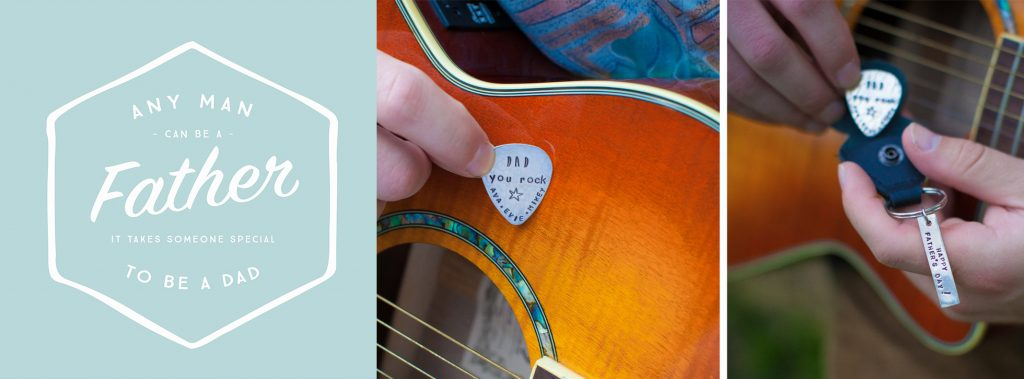 fathers day gift guitar pick