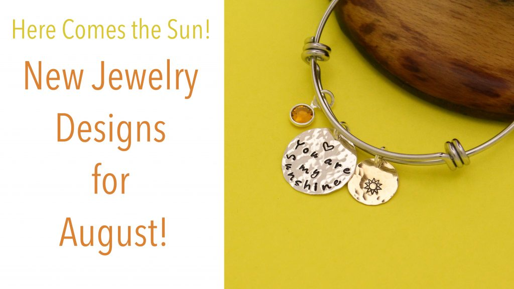 sunshine bangle in stainless steel