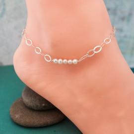 Pearl Bar Anklet