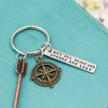 Not All Those Who Wander Are Lost Keychain