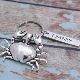 Crab Keychain