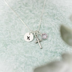 Faith Charm Necklace