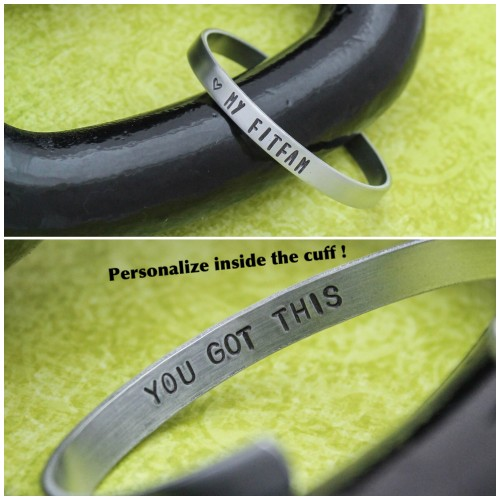 LOVE MY FITFAM and YOU GOT THIS Cuff